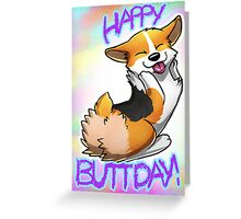 Happy Buttday! Greeting Card
