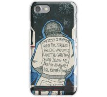 made of stone iPhone Case/Skin