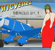 "MysticVessel - Adventure Series - Erotic Art ""Plane Thief"" by mysticvessel"