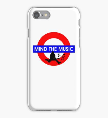 Mind the Music iPhone Case/Skin
