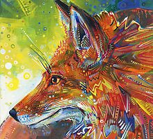 Red fox by Gwenn Seemel