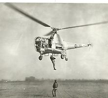 Sikorsky H-5D Dragonfly by John Schneider
