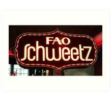 FAO Schweetz Art Print