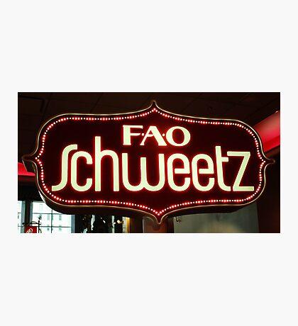 FAO Schweetz Photographic Print