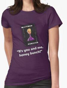 Clue - Professor Plum Honey Bunch Womens Fitted T-Shirt