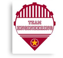 Team Engineering Canvas Print