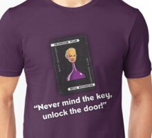 Clue - Professor Plum Unlock the door! Unisex T-Shirt