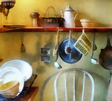 19th Century Farm Kitchen by Susan Savad