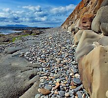 Troon Pebbles by Escocia Photography