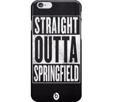 The Simpsons, Springfield iPhone Case/Skin