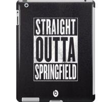 The Simpsons, Springfield iPad Case/Skin