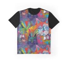 Colourful cats 2 Graphic T-Shirt