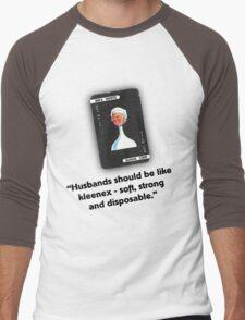 Clue - Mrs White Kleenex Men's Baseball ¾ T-Shirt