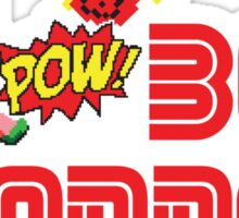 Boy wonder (Wonder Boy) Sticker