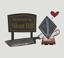 Silent Hill Pyramid Head by kittenkirby
