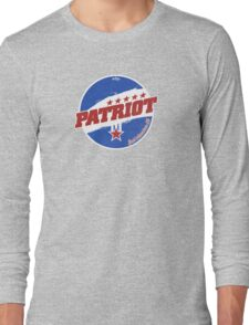 Patriot: Real American Oil Long Sleeve T-Shirt