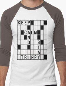 Keep Calm Stay Trippy MOFO! Men's Baseball ¾ T-Shirt