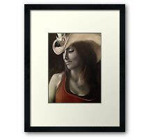 The Equestrian Framed Print