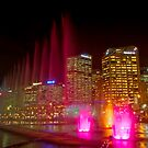 Water and light, Darling Harbour, Sydney by Erik Schlogl