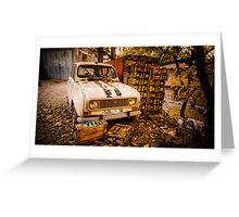 Old skool in Morroco Greeting Card