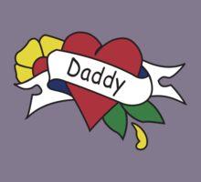 Daddy tattoo kids t-shirt Kids Tee