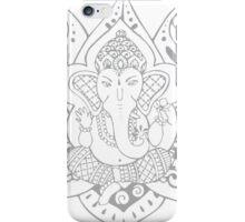 Lord Ganesha Lotus iPhone Case/Skin