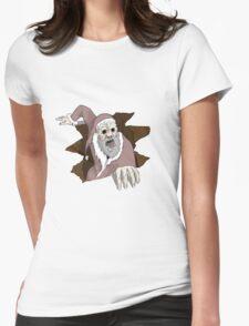 Bad Santa Womens Fitted T-Shirt
