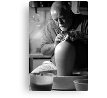 Rory At Work Canvas Print