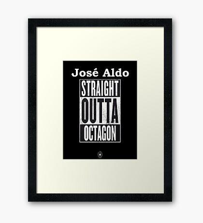 UFC Jose Aldo Vs Conor Mcgregor  Framed Print