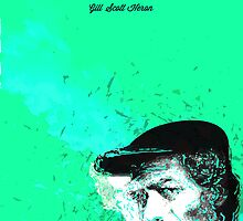 Destructured portrait - Gil Scott Heron by David Page