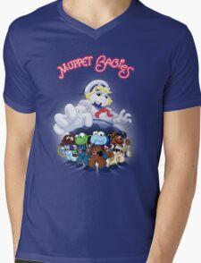 Muppet babies (Ghostbusters) Mens V-Neck T-Shirt