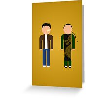Shenmue Greeting Card