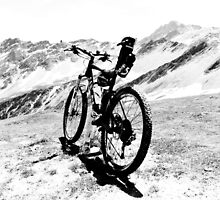 Mountain & Bike by heinrich