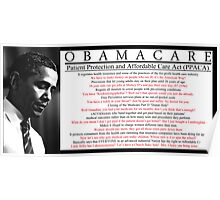 Silly Obamacare Poster Poster