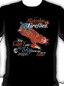 Malcolm and the Fireflies! T-Shirt