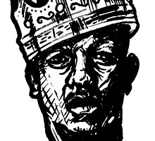 King of Rap 2013 Urban Art by sketchNkustom