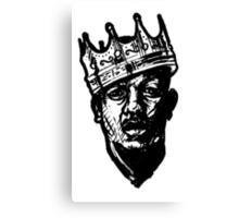 King of Rap 2013 Urban Art Canvas Print