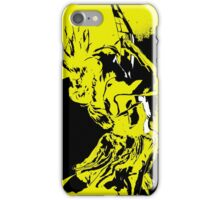 Dancer in Yellow iPhone Case/Skin