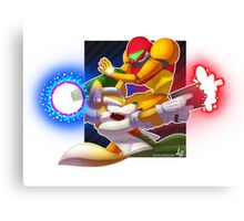 Melee it Out! Canvas Print