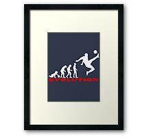 Football, Football Evolution Framed Print