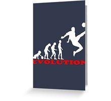 Football, Football Evolution Greeting Card