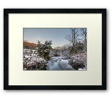 Deep Creek At Green Lane Reservoir - Pennsylvania USA Framed Print