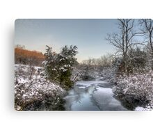 Deep Creek At Green Lane Reservoir - Pennsylvania USA Canvas Print