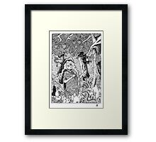 The Oblivion Meets The Giving Tree Framed Print