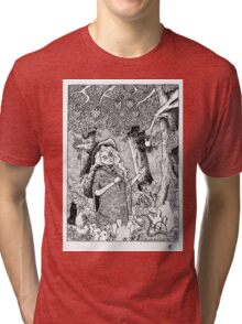 The Oblivion Meets The Giving Tree Tri-blend T-Shirt