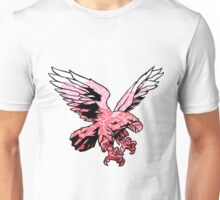 The swoop - Pink Unisex T-Shirt