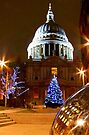 St Pauls Cathederal At Christmas - HDR by Colin  Williams Photography