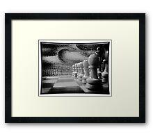 ©HS Tactic IAII Monochromatic Framed Print