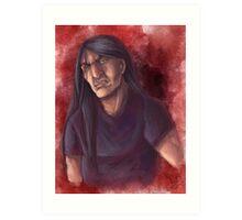 Nathan Watercolor Art Print