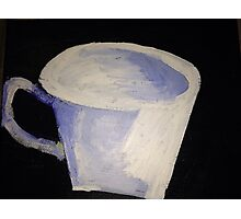 """White Tea Cup"" Photographic Print"